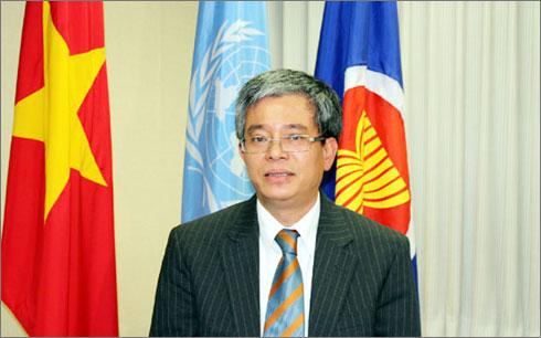 Thứ trưởng Bộ Ngoại giao Phạm Quang Vinh. (Ảnh VOV)