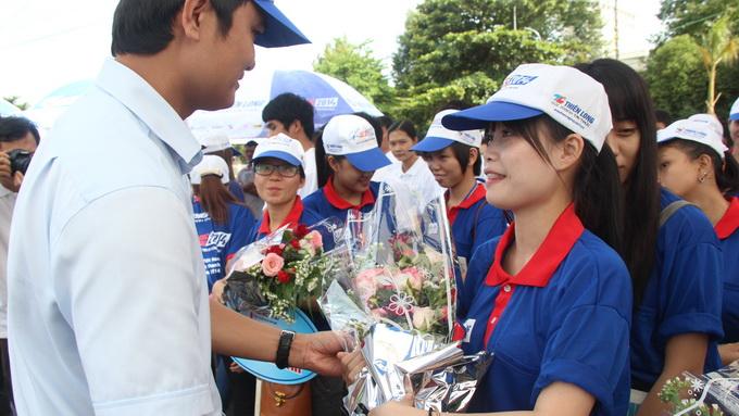 Đắk Lắk: 550 sinh viên ra quân Tiếp sức mùa thi