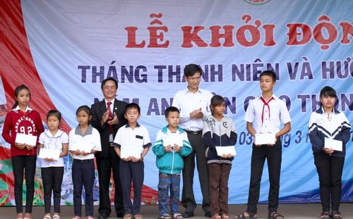 Đắk Nông Tổ chức lễ khởi động Tháng Thanh niên
