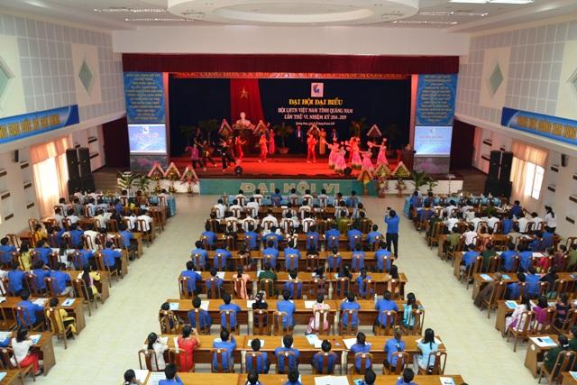 Quảng Nam: Tổ chức thành công Đại hội đại biểu Hội LHTN Việt Nam tỉnh Quảng Nam lần thứ VI, nhiệm kỳ 2014 - 2019