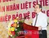 Phó Thủ tướng Chính phủ Nguyễn Thiện Nhân - Ủy viên Bộ Chính trị, Chủ tịch Ủy ban  MTTQVN tham dự và phát biểu tại hội nghị. (Ảnh: Tiên Minh – TTXVN)